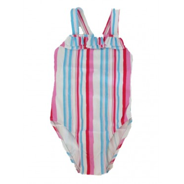 Colour Stripes Swimsuit