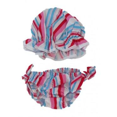 Colour Stripes Baby Culottes