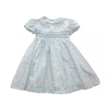 Blue Bells Smocked Dress