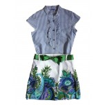 Cenefa Tropical Shirt and Skirt