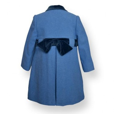 Formal Girl Coat - Bow