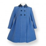 Formal Girl Coat - Princess cut