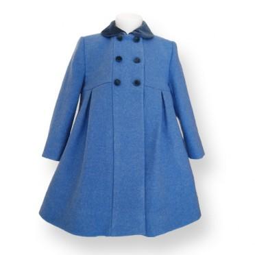 Formal Girl Coat - Princess cut