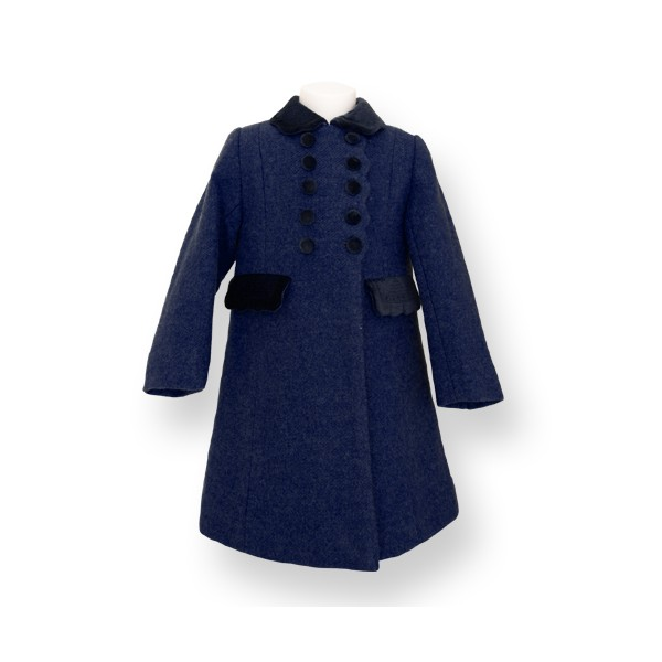 Formal Girl Coat - Traditional Cut - The Traditional Children Company