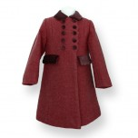 Formal Girl Coat - Traditional Cut