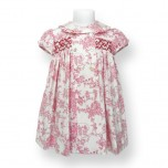 Classic Toile Smoked Dress