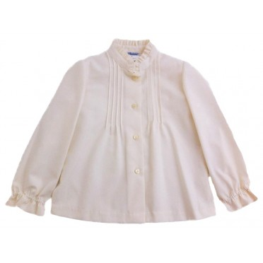 Classic Girl Ivory Blouse
