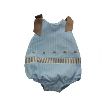 Chocolate Bows Romper Suit